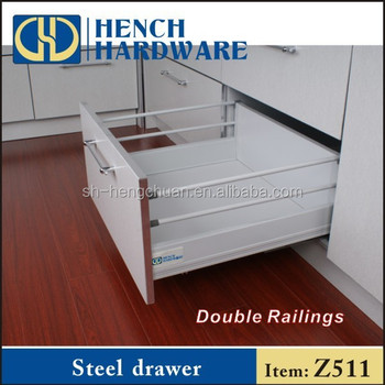 sliding drawers for kitchen cabinets cabinet shelves telescopic channel metal buy
