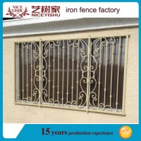 2016 Simple Wrought Iron Window Grills Designs / Steel ...