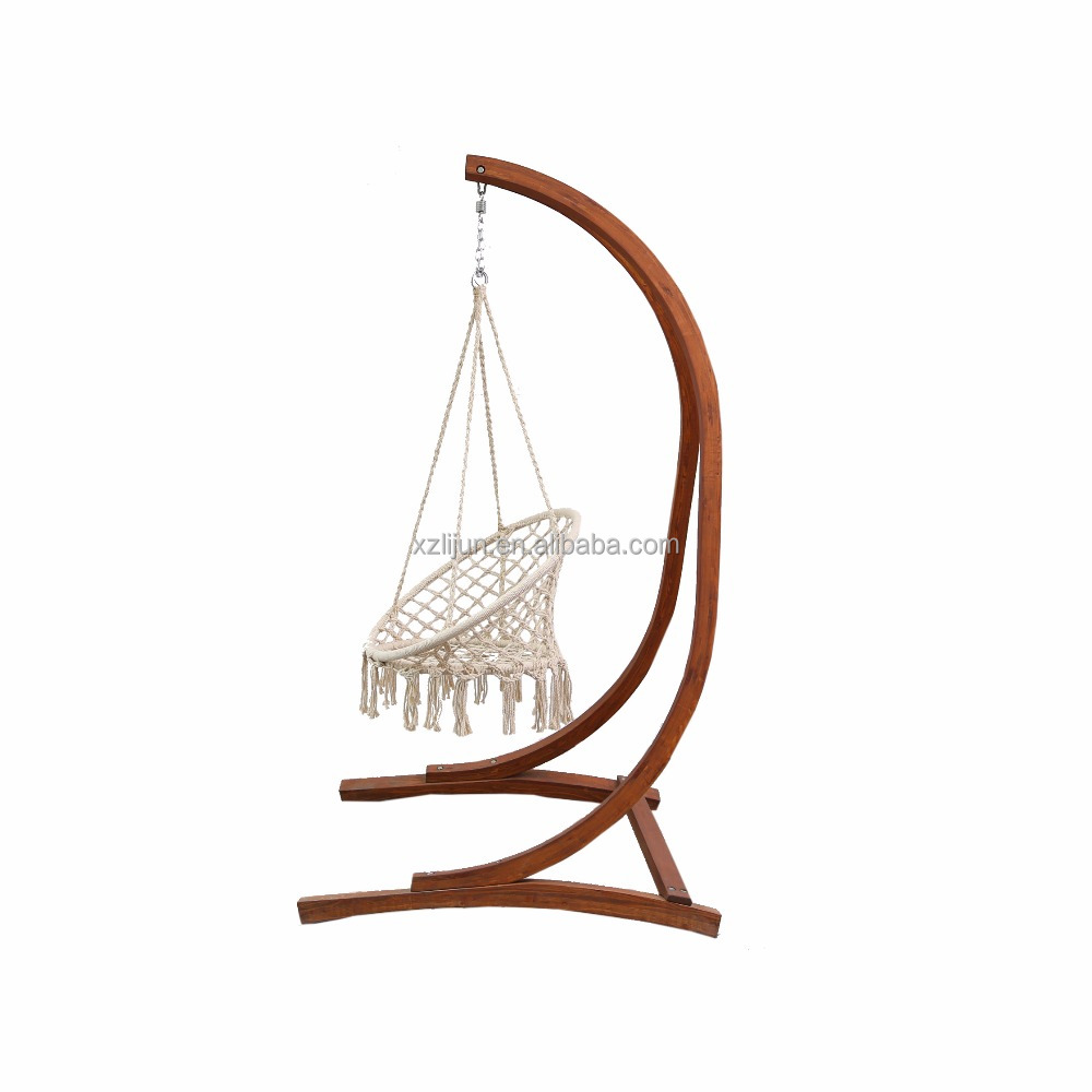 buy chair swing stand cover rentals westchester ny hangging egg with arc wood support swings
