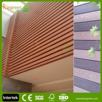 Plastic Exterior Wall Decorative Panel/fire Resistant Wood ...
