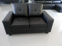 Living Room Furniture Shanghai Port Heated Leather Sofa