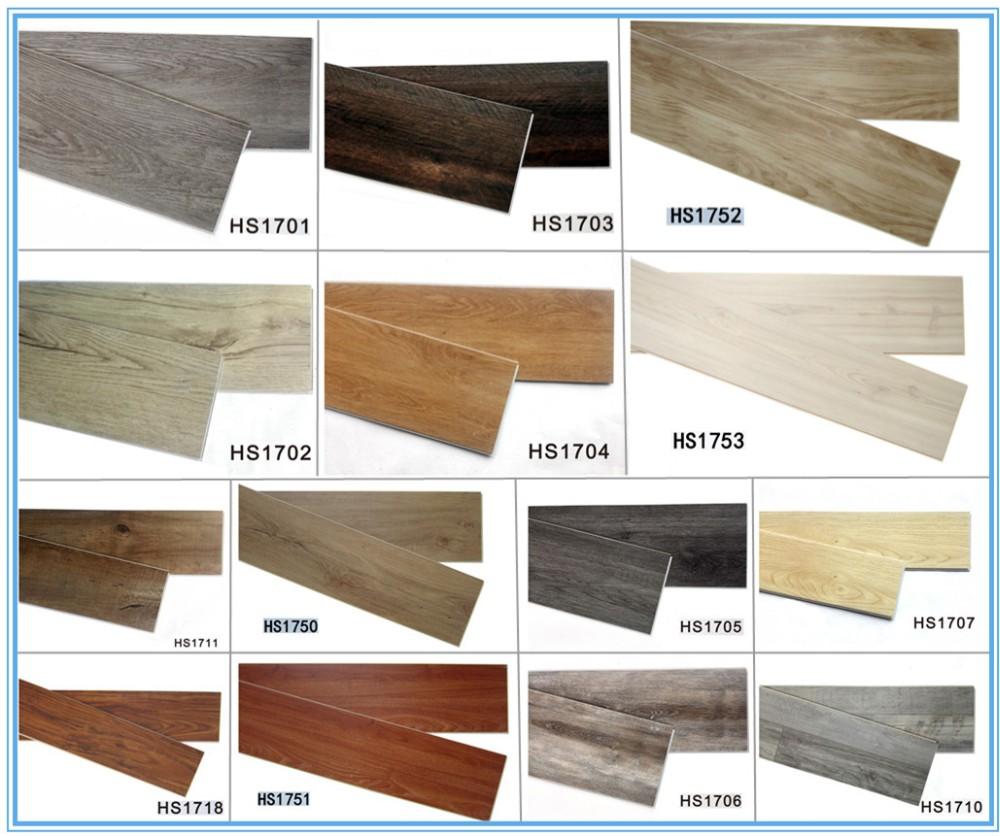 Eco Material Luxury Vinyl Floor Tile Rubber Flooring Spc Vinyl