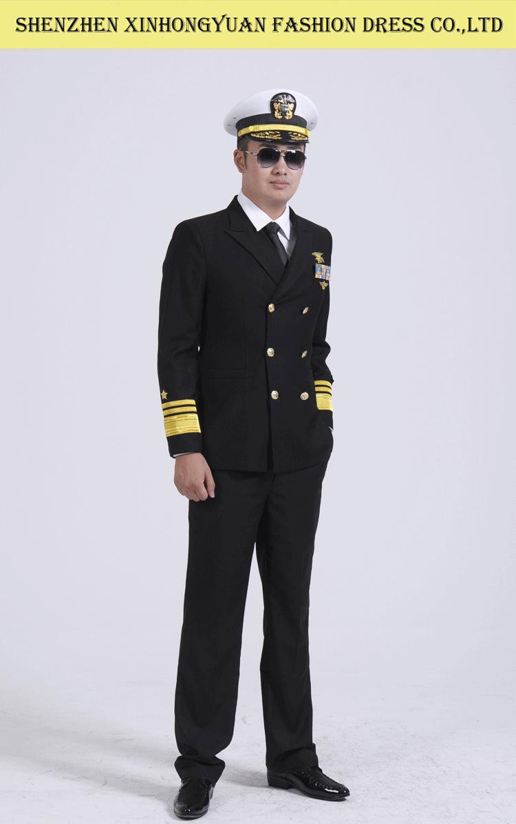 Royal Navy Uniform Doublebreasted Pilot Man Uniform