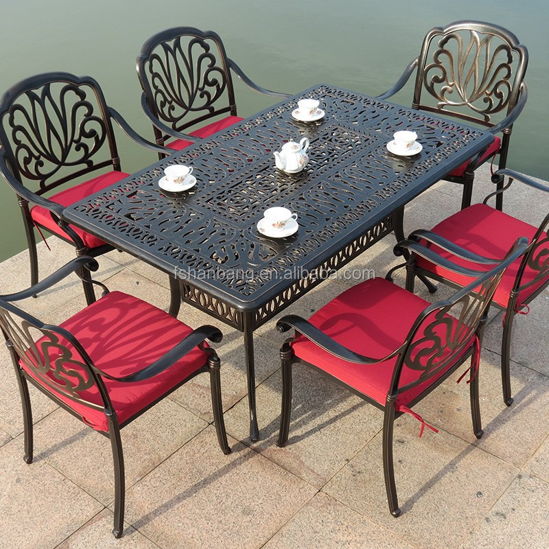 White Victorian Patio Furniture