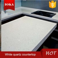 White Sparkle Quartz Stone Countertop - Buy White Quartz ...