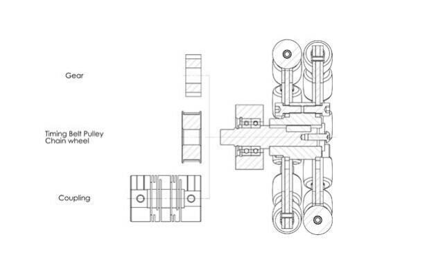 Omni Wheel,Nylon-rubber Omni Wheel,Omnidirectional Wheel