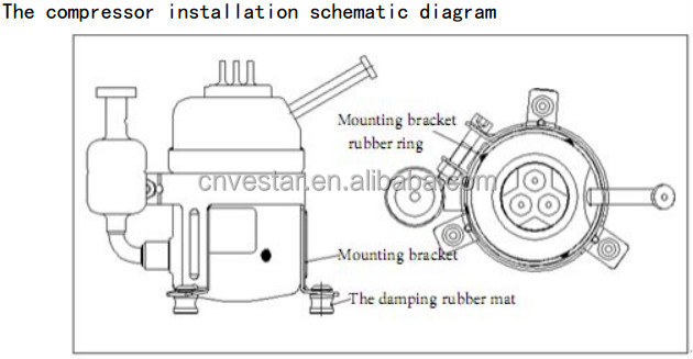 Copeland Semi Hermetic Compressor Parts. Diagram. Auto