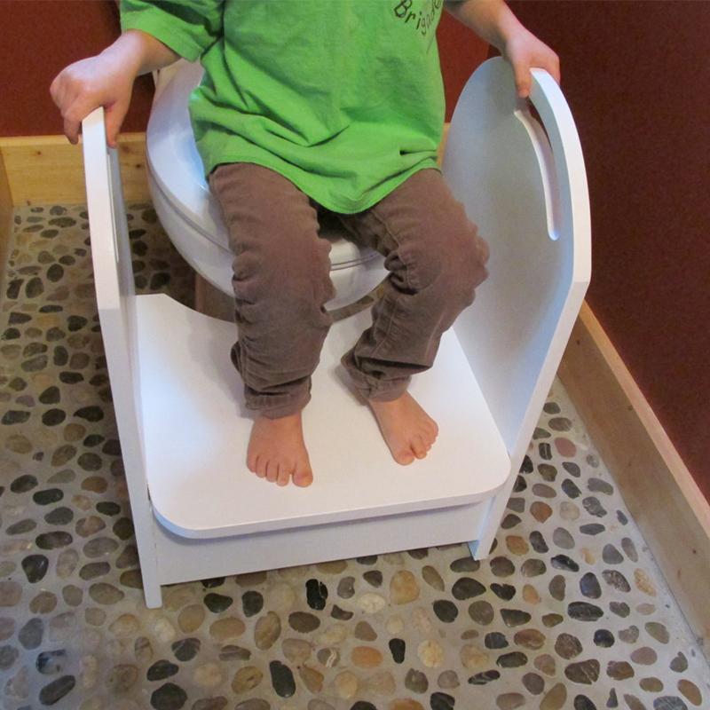 Wood Potty Step Stool Kids Toilet Step Stool With Handrail  Buy Step StoolToilet Step Stool