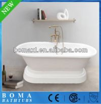 White Cheap Freestanding Baby Bath Tub With Stand - Buy ...