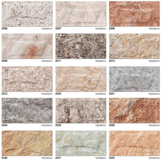 Mattonelle di pietra per piastrelle in gres porcellanato