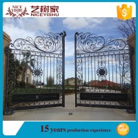 Cheap Simple Morden Main Gate Designs/iron Fancy Gate ...