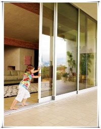 Upvc Sliding Glass Patio Door