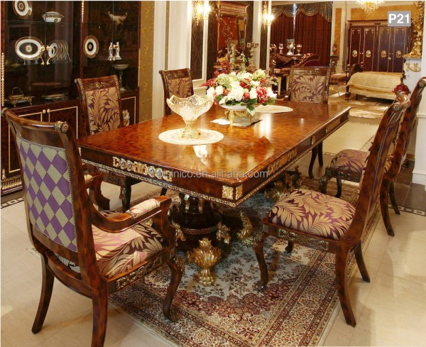 French Luxury Dining Room Table
