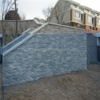 Concrete Wall Covering Grey 5 Trips Flat Cultural Stone ...