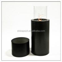 Outdoor Round Free Standing Bio Ethanol Fireplace, View ...
