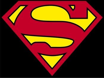 outdoor superman flag banner