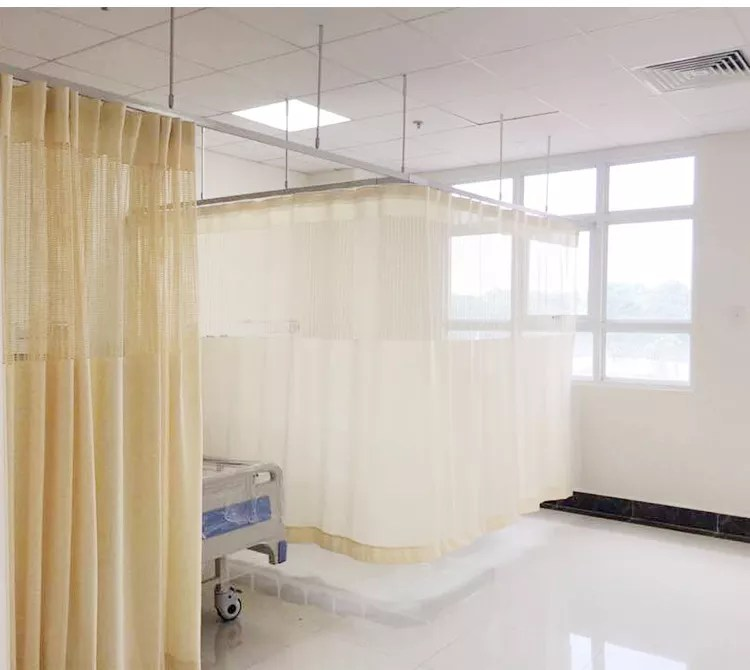 aluminum hospital cubicle curtain track aluminum divider hospital beds ceiling mountes bending curtain rail with extendable rod buy aluminum curved