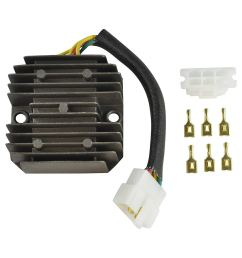 get quotations recitifer regulator for 2005 13 polaris phoenix 200 quadricycle 0452760 0453375 [ 1500 x 1500 Pixel ]