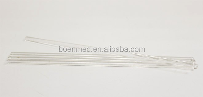 High Quality Borosilicate Glass Stirring Rod With Rounded