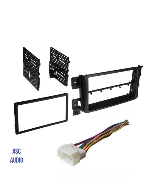 small resolution of get quotations asc car stereo install dash kit and wire harness to install a double din aftermarket radio