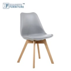 High Chair Wooden Legs Eames Soft Pad China Seat Chairs Manufacturers And Modern Dining With Quality Colorful Pp Plastic