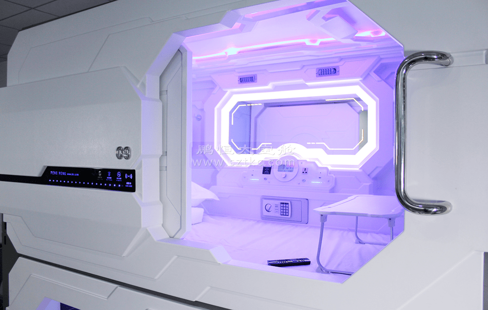 2016 New Innovative Product Fashion Capsule Hotel Bed