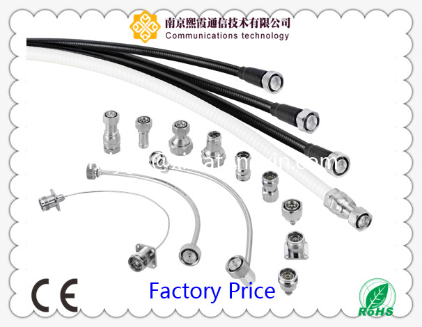 Rg316 4.3-10 Female Cable Connector Right Angle Male Plug
