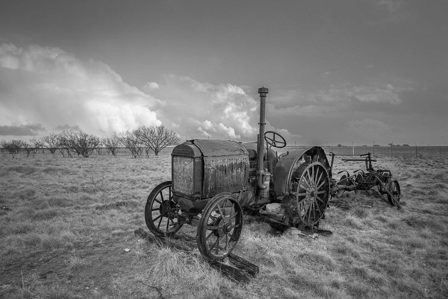 hight resolution of get quotations tractor photography wall art print picture of rustic mccormick deering tractor in southern texas