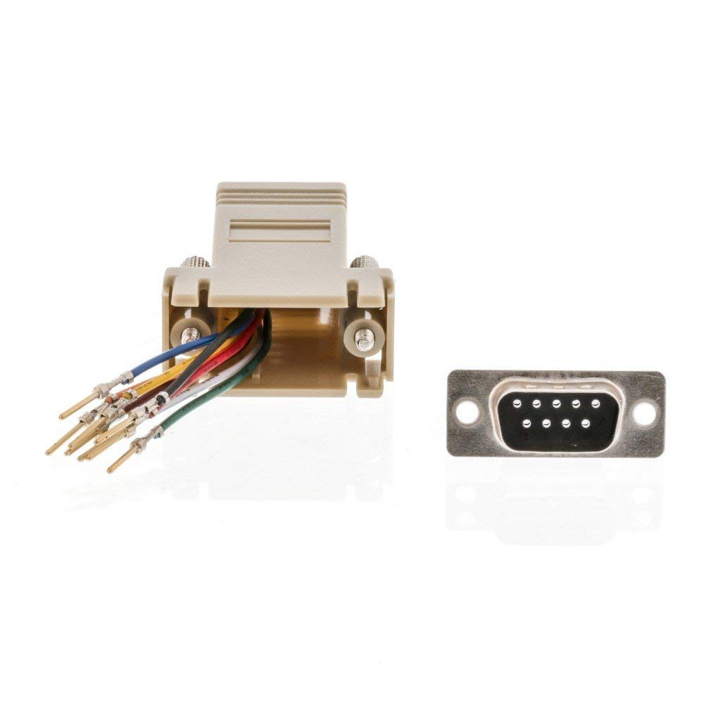 hight resolution of get quotations valueline serial adapter d sub 9 pin male rj45 8p8c female