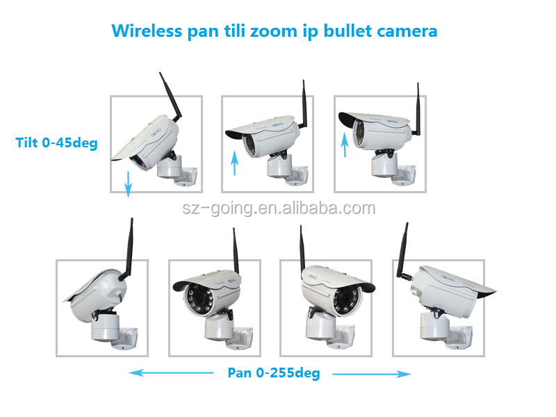 H.264 Outdoor Solar Power Wireless Hd 1080p Ip Camera