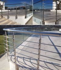 Galvanized Steel Deck Railing | Galvanized Pipe Railing ...