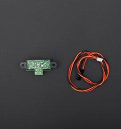 super sensors sharp gp2y0a21 distance sensor 10 80cm  [ 1500 x 1000 Pixel ]