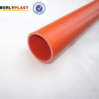 High Pressure Large Diameter Pvc Pipe For Electrical - Buy ...