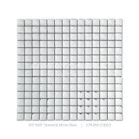 Century Iridescent Mesh Mounted Mirror Tile Sheet Kitchen ...