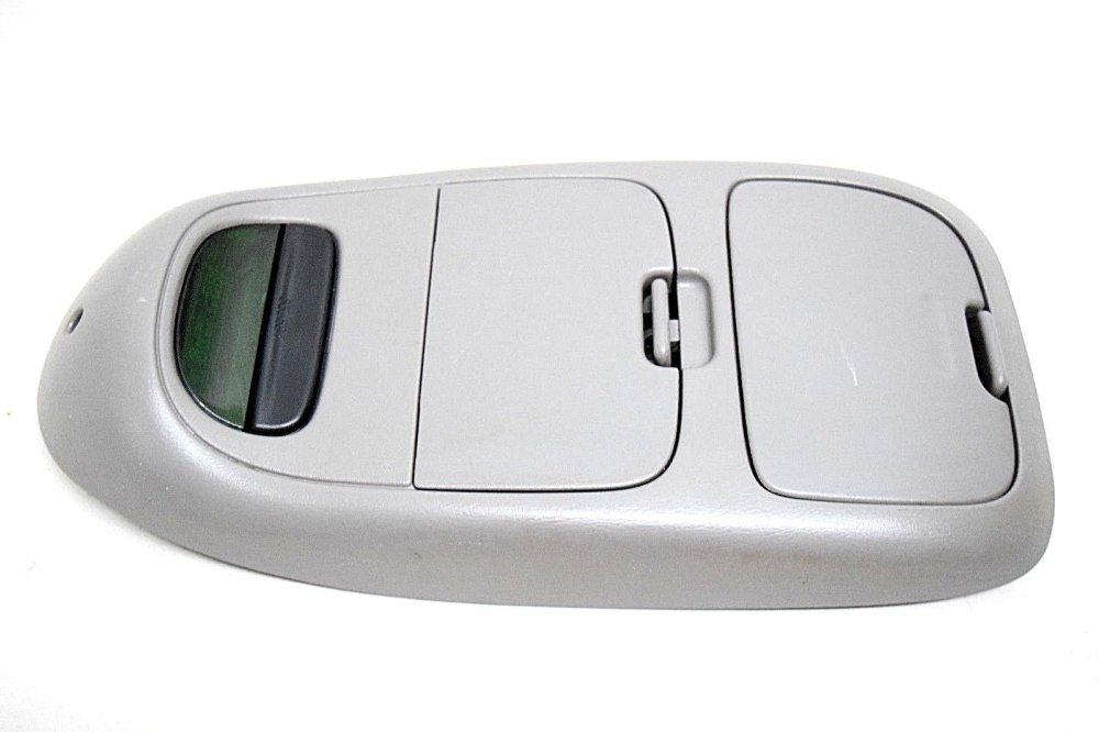 medium resolution of 97 98 99 00 01 02 03 ford f150 overhead console digital display grey