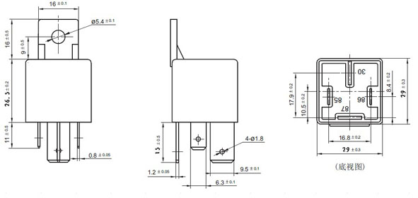 Wiring Diagram For Relay Jd2912 24Vdc