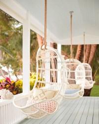 Outdoor Indoor Swing Chair Ceiling Hanging Rattan Chair ...