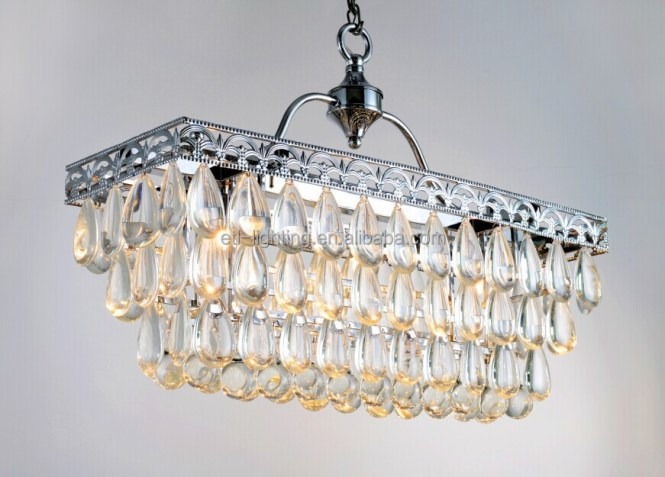 North American Country Oblong Chandelier Lightings Etl84126