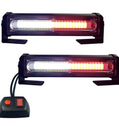 get quotations led emergency lights red white grille light head 16w bright linear led mini strobe lightbar [ 1000 x 1000 Pixel ]