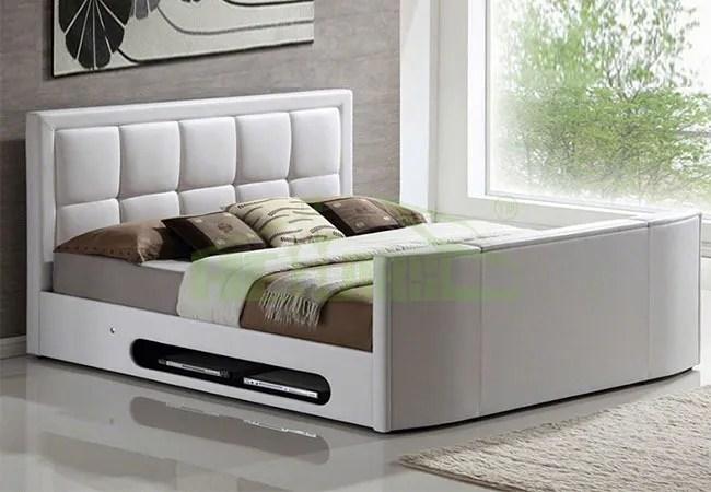 meubles de chambre a coucher moderne lit profusion avec systeme tv integre buy meubles de chambre a coucher moderne lit profusion avec systeme tv