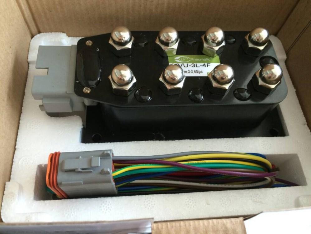 medium resolution of accuair 4 corner vx4 air suspension valve manifold valve air ride suspension valve