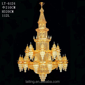 Hotel Modern Ic Dome Chandelier For Mosque