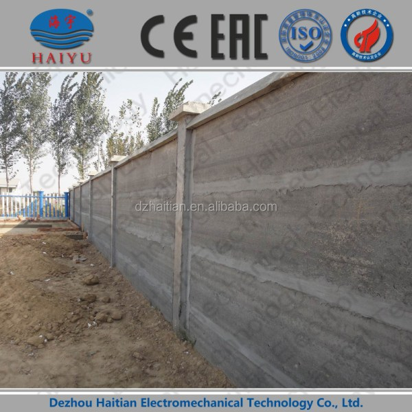 Precast Concrete Fence Mold Retaining Wall Mould - Year of