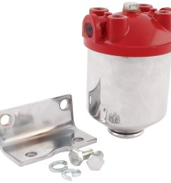 get quotations allstar all40250 3 8 npt inlet outlet chrome finish canister type fuel filter [ 1500 x 1455 Pixel ]