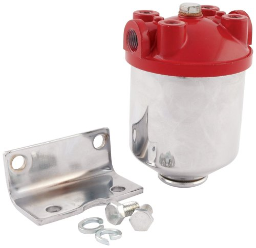small resolution of get quotations allstar all40250 3 8 npt inlet outlet chrome finish canister type fuel filter