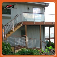 wood balcony balustrade/indoor decorative railing, View ...