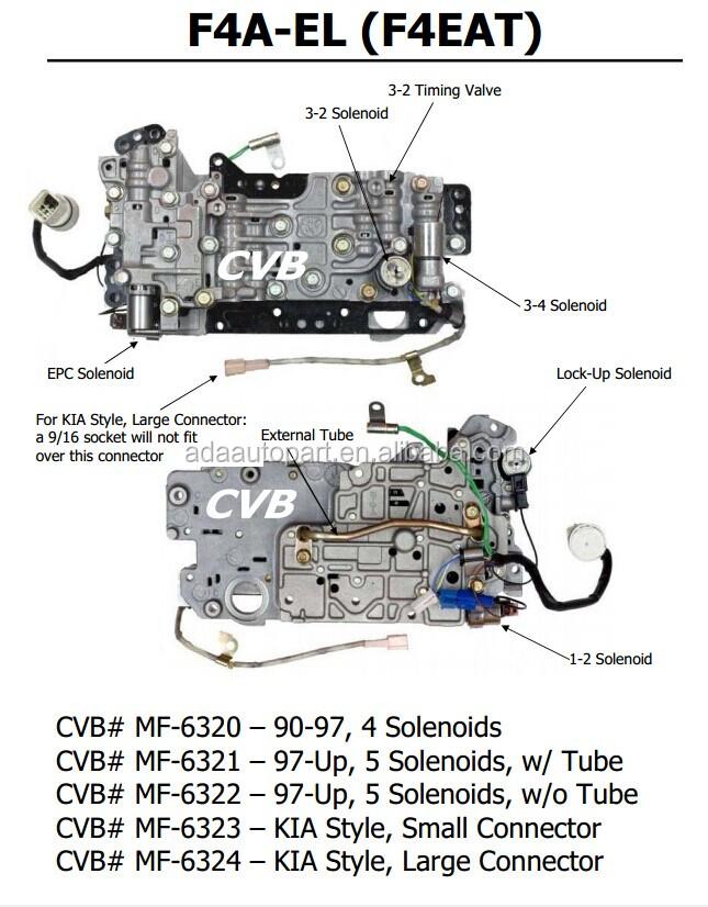 Original F4ael F4eat Transmission Valve Body Good Used