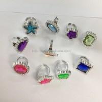 Shaped Gem Stone Rings/cheaper Plastic Ring Toys - Buy ...