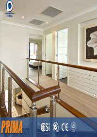 Indoor Unbreakable Stainless Steel Cable Railing System ...