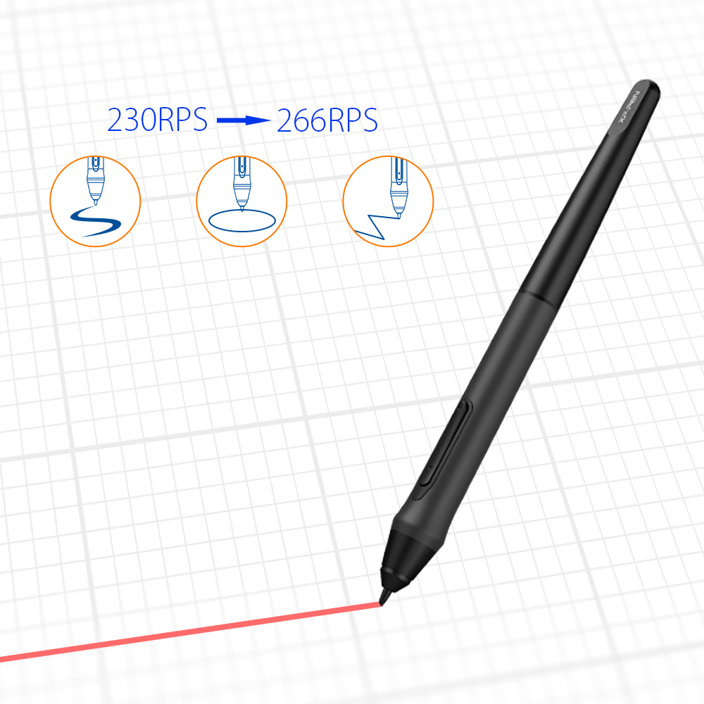 Xp-pen Deco03 Wireless High Level Drawing Graphic Tablet